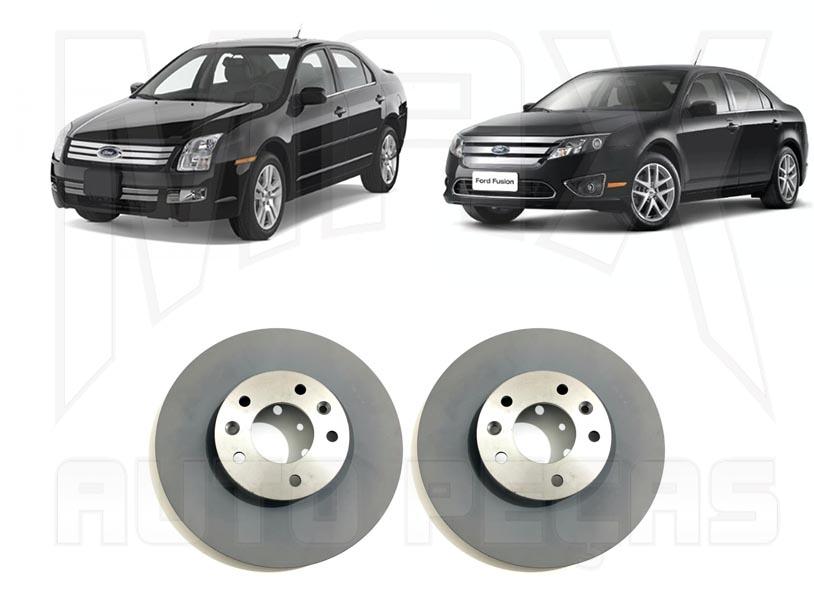 Kit Disco Dianteiro Fusion 2006 2007 2008 2009 2010 2011 2012