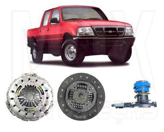 Kit Embreagem e Atuador Ranger 2.8L Diesel 2001 2002 2003 2004 2005