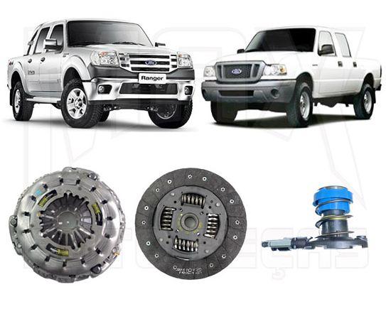 Kit Embreagem e Atuador Ranger 3.0L Diesel 2005 2006 2007 2008 2009 2010 2011 2012