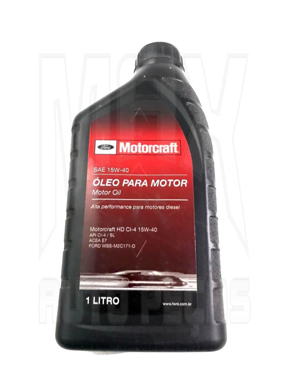Oleo 15W40 - Motorcraft