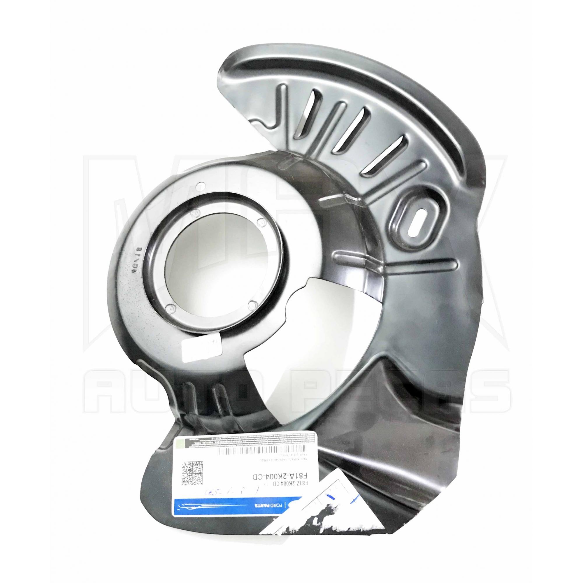 Protetor Direito Disco do Freio Dianteiro F250 4x2 1998 1999 à 2012 Original Ford