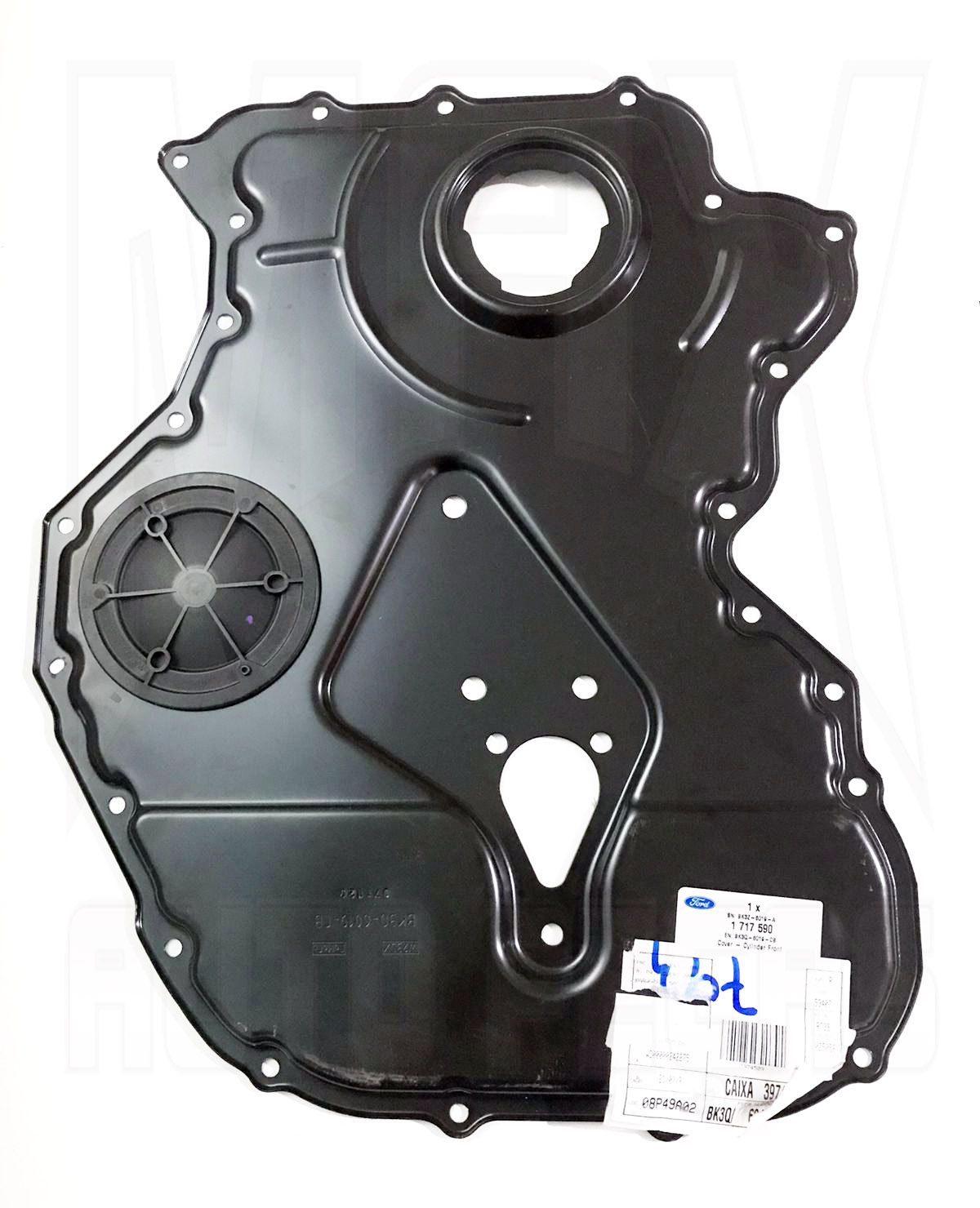 Tampa Frontal Do Bloco Cilindros Ranger 3.2 2012 2013/... Original Ford