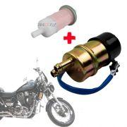 Bomba Combustível Intruder 1400 + Filtro Gasolina