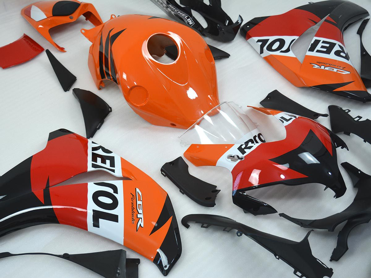 Kit Carenagem Cbr 1000 2008-2011  - Raccer