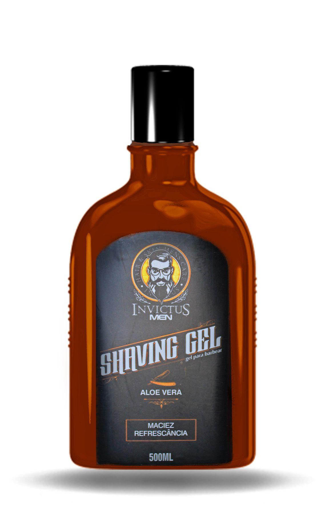 Invictus Men Shaving Gel 500ml