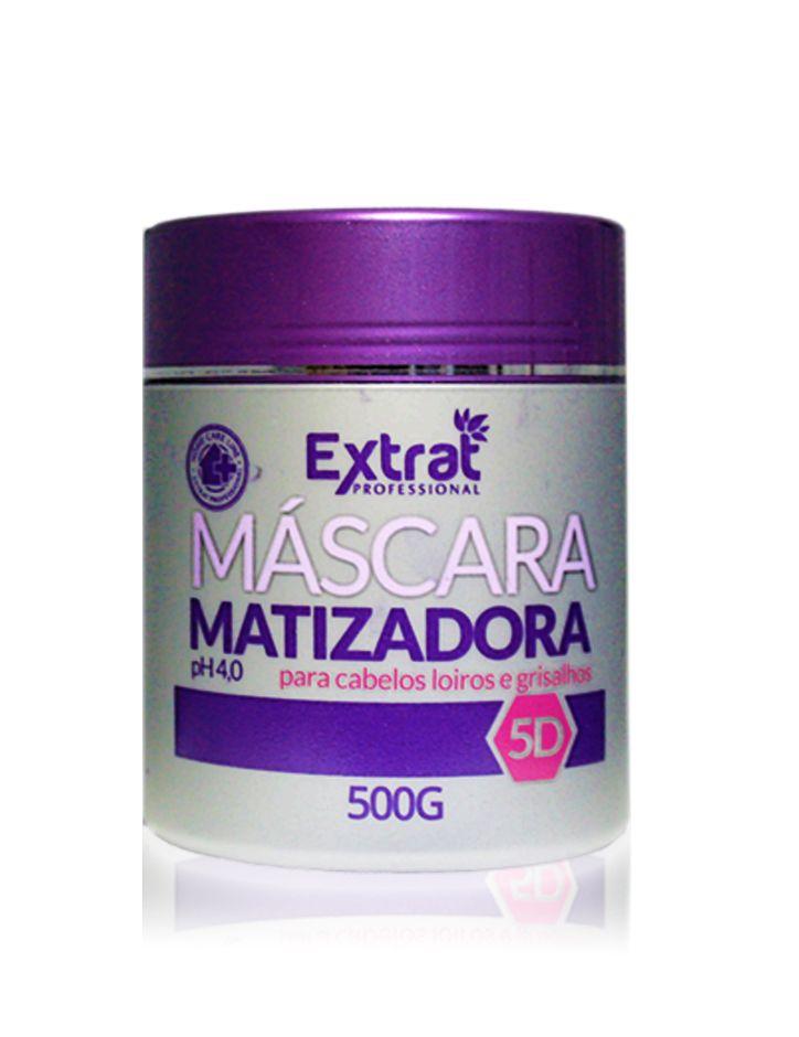 Máscara Matizadora 5D 500g Extrat Professional
