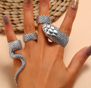 Anel Steampunk Snake