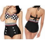 Biquini Pin Up Hot Pants