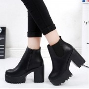 Bota Angelic Ankle Boots Sola Tratorada