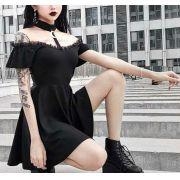 Mini Dress Gothic Lyana