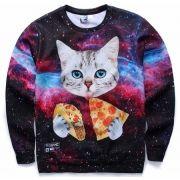 Blusa Galaxy Cat