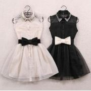 Mini Vestido Puff Doll