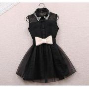 Mini Vestido Puff Dool