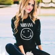 Moletom Nirvana