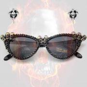 Óculos Cat Skull