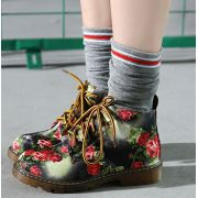 Sapato Oxford Vintage Floral