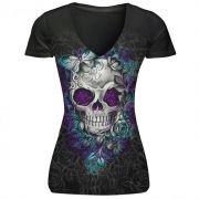 T-shirt Skull Storm