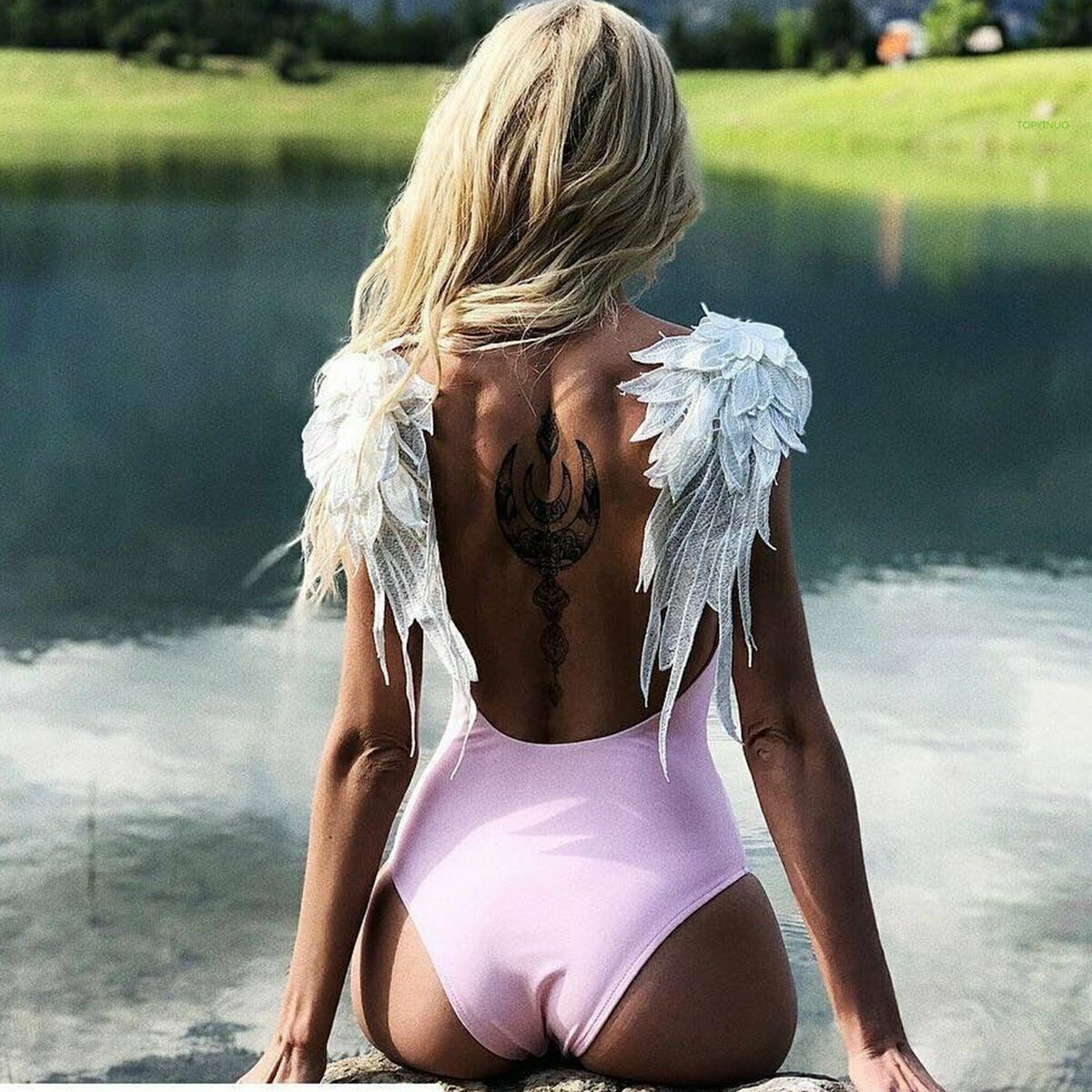Body Maiô Asa Angel