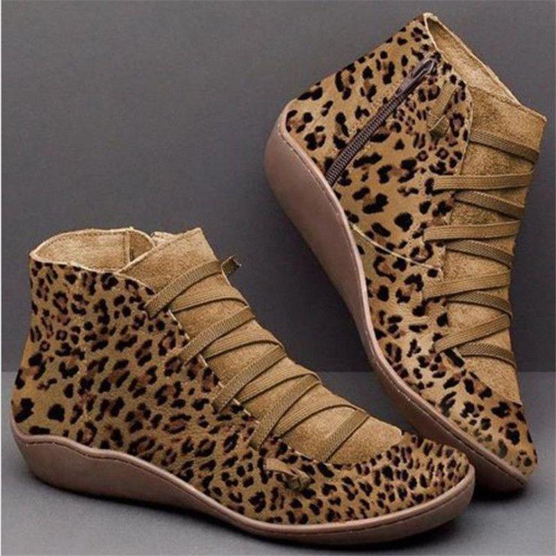 Bota Fashion Leopard