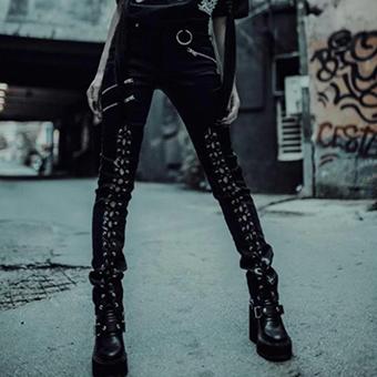 Calça Gothic Zippers Kyra