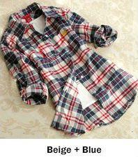 Camisa de Flanela Folks Dream Xadrez
