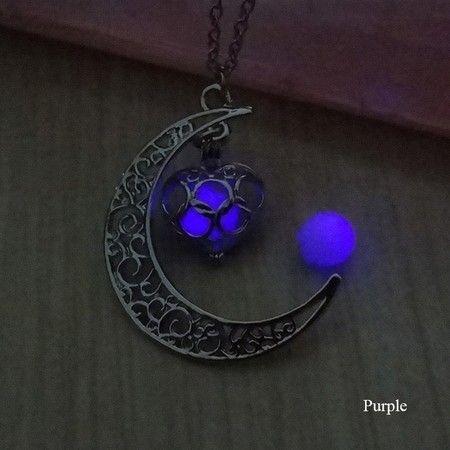 Colar Lua Luminosa