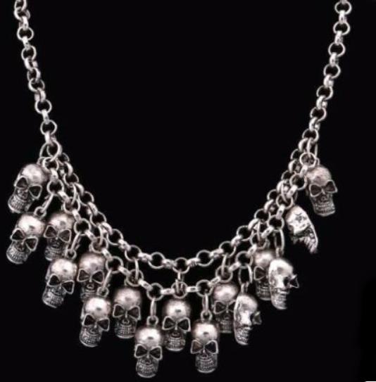 Colar Skull