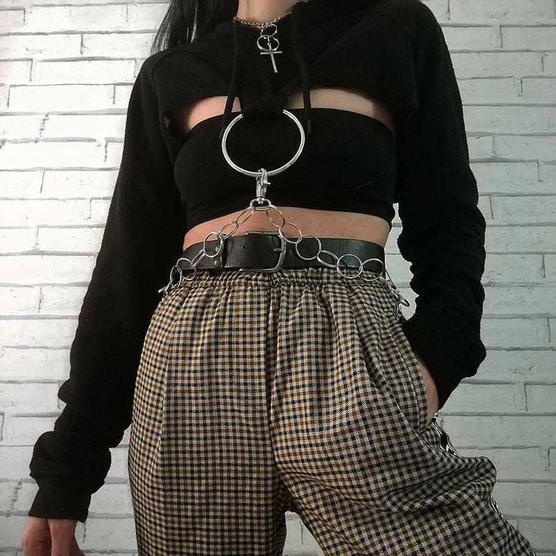 Cropped Goth Lolla