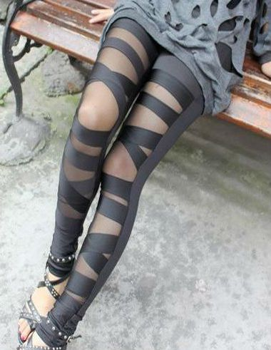 Legging Gothic Bandage