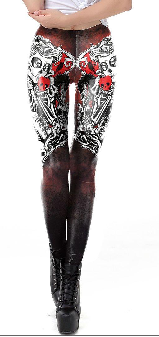 Legging Gothic Catrina