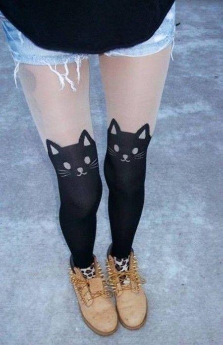 Meia-Calça Gato