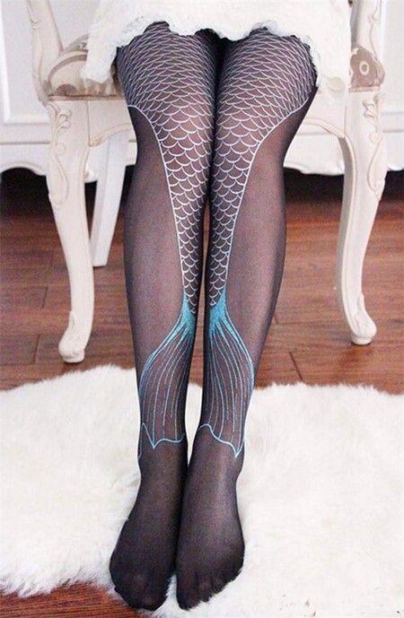 Meia Calça Mermaid