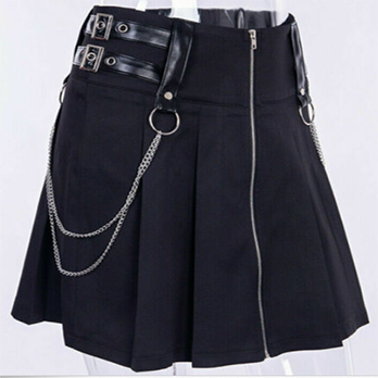 Mini Saia Goth Black Joy
