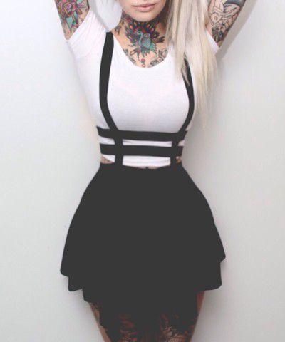 Mini Saia Suspender(Suspensório)