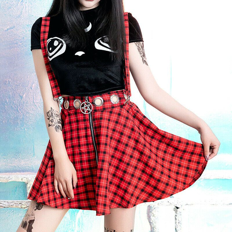 Mini Saia Xadrez Sweet Girl