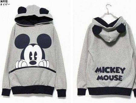 Moletom Mickey e Minnie Mouse