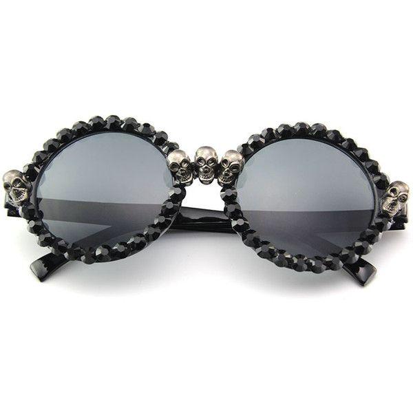 Óculos Round Skull