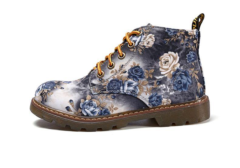 Sapato Oxford Vintage Floral
