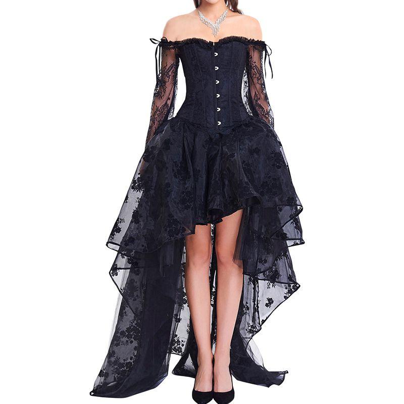 Vestido Corset  Renda Nêmesis
