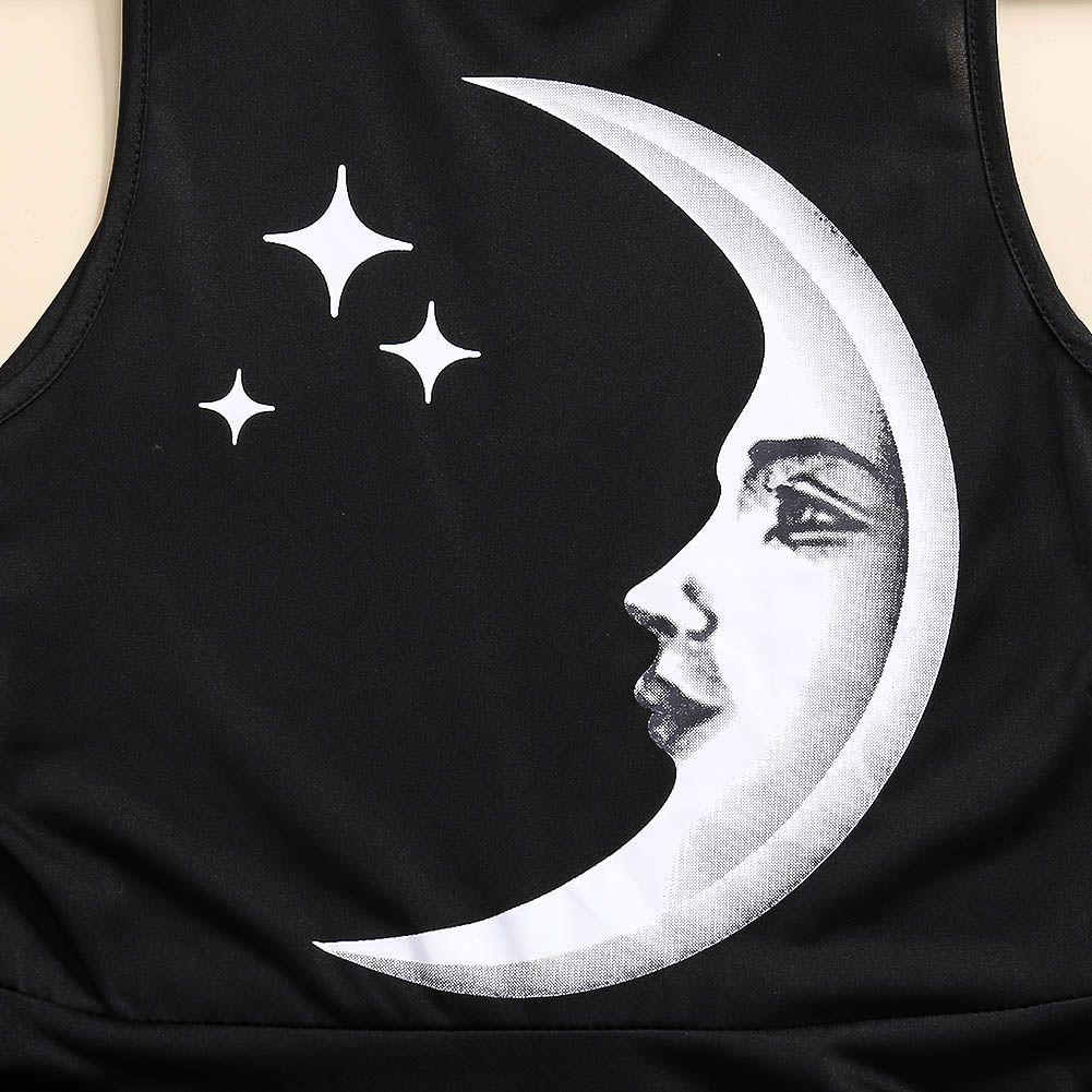 Vestido Goth Lua Crescente