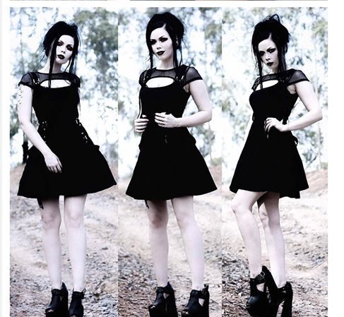 Vestido Goth Suzy