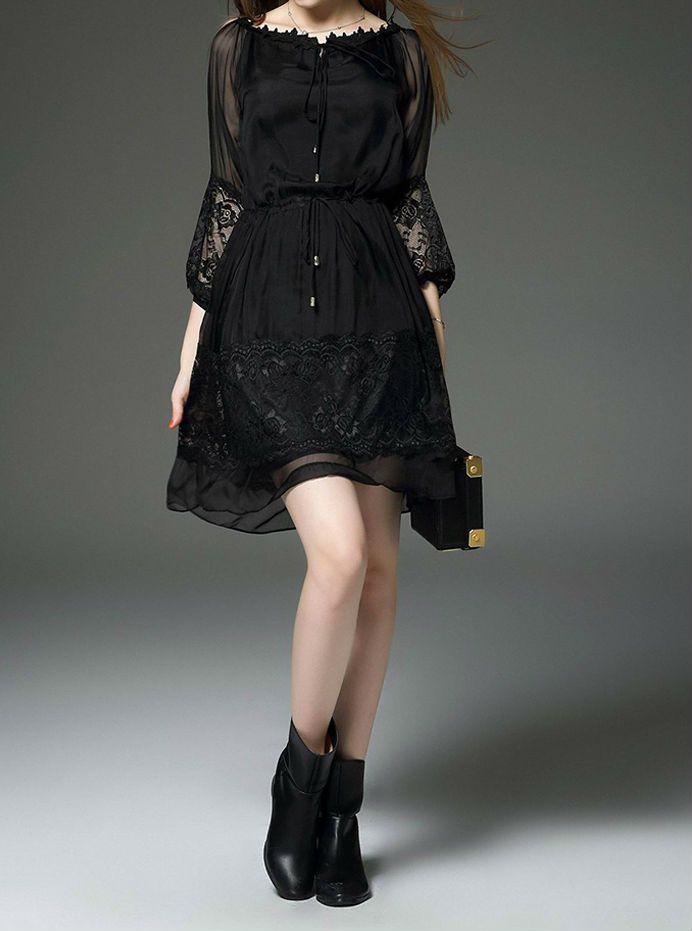 Vestido Preto Goth