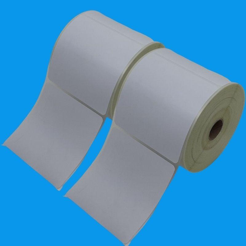 1450 Etiquetas Adesiva 100X100mm em PS + 2 Fita Ribbon 110X75M Mista Preta