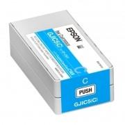 Cartucho de Tinta Epson C831 C13S020564 GJIC5BC Ciano Azul
