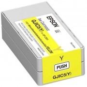 Cartucho de Tinta Epson C831 C13S020566 GJIC5BY Amarelo Yellow