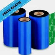 Fita Ribbon 110X300M Misto Wax/Resin Preto IImak PM55 - Caixa com 1 Unidade