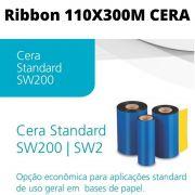 Fita Ribbon 110X300Metros Cera Preto SW200