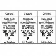 Kit Etiqueta de composição 33X51mm(3) Branca (5.880 Etiquetas+Ribbon)