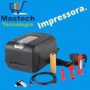 Kit Impressão de Etiqueta Sem Adesivo [Impressora+Ribbon+Etiqueta]
