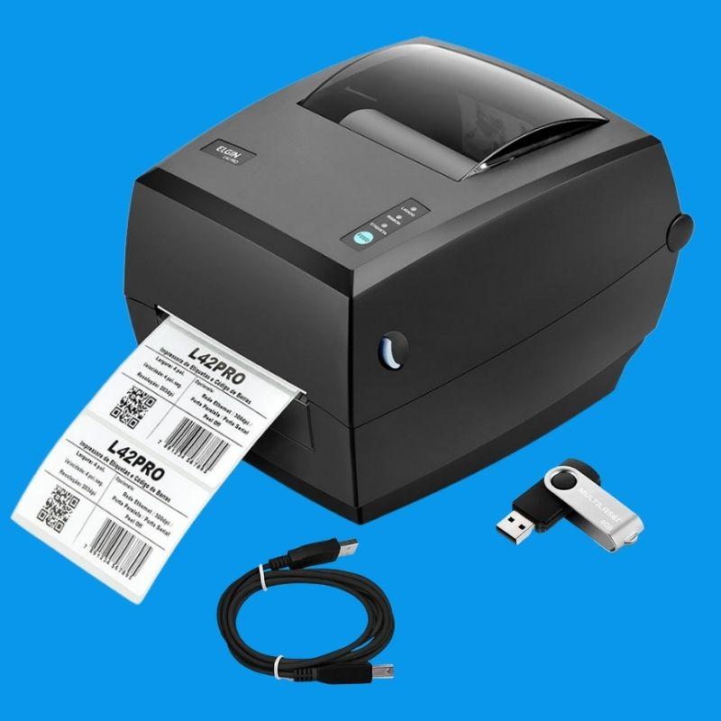 Combo Sistema de Impressão Congelados 100X100mm Completo